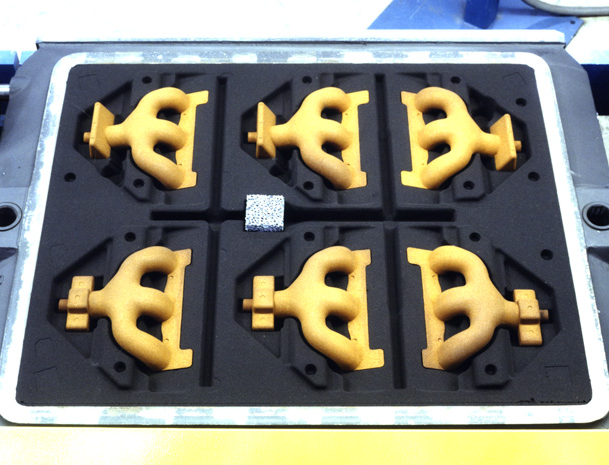 Cores in Mold